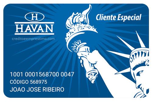 Cartão de crédito Havan: Solicite o seu agora mesmo