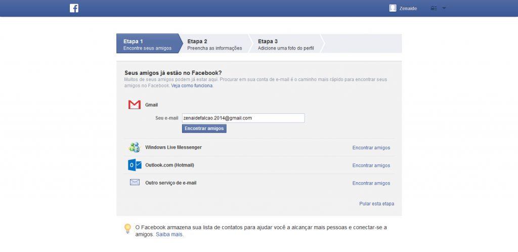 Como Criar Conta No Facebook Passo a Passo