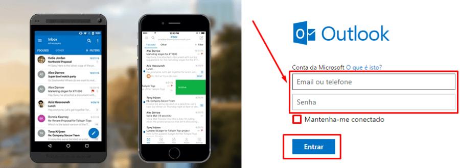 Como Acessar Sua Conta de Email Outlook