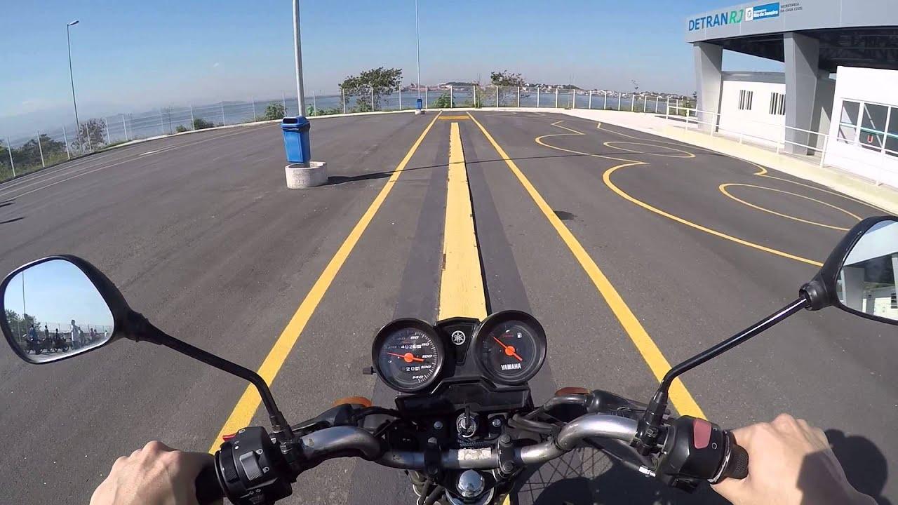 Veja como passar no Exame Prático de Moto