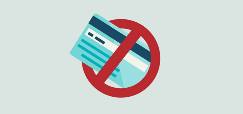 Solicitação de Cartão de Crédito Negado